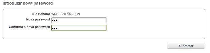 DNS Nova Password