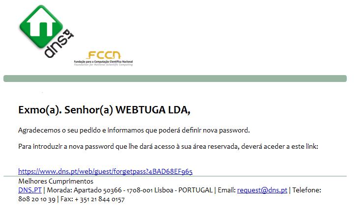 Recuperar DNS Mail
