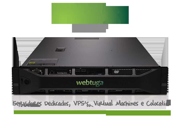 WebTuga Servidores Virtuais Cloud